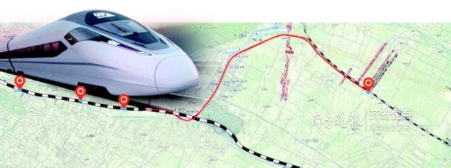 济南站至济青高铁将建联络线,建成后10分钟到济南东