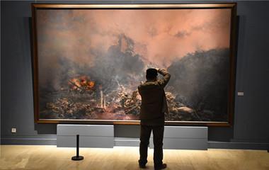 """""""时代的温度""""山艺建校六十周年美术作品展在北京开幕"""