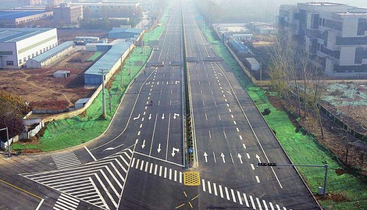"""国道220长清绕城段通车 """"穿城过""""变""""绕城走""""省时20分钟"""