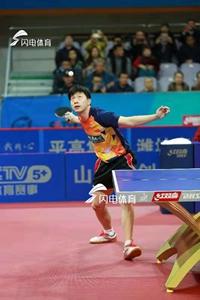 乒超联赛|鲁能男队主场3:0山东魏桥