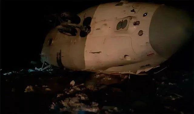 世界最大直升机坠毁 致1人死亡5人受伤