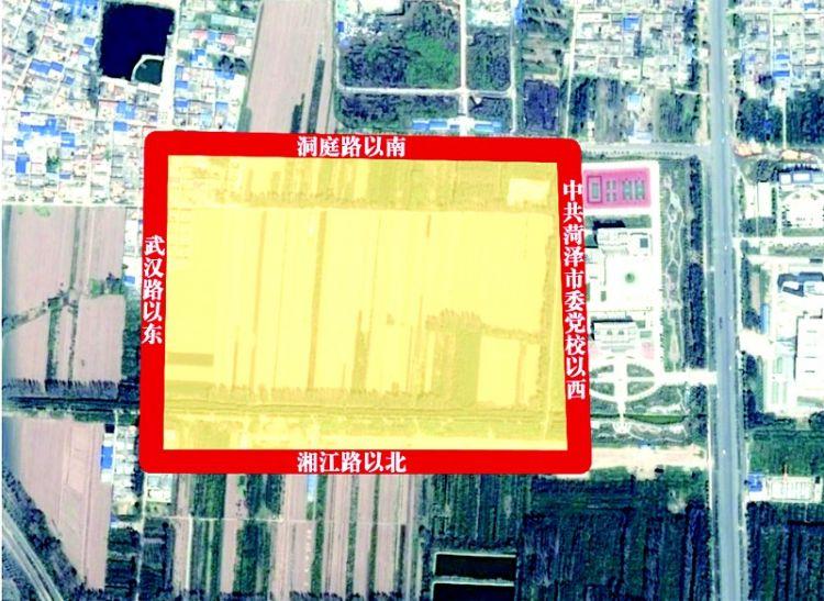 市委党校西侧地块规划为机关团体用地总面积达16公顷