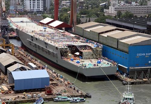 印度要建第三艘航母 海外媒体:花费巨大却无实质作用