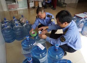 山东通告15批不合格食品 含烟台鹿鸣泉桶装饮用水