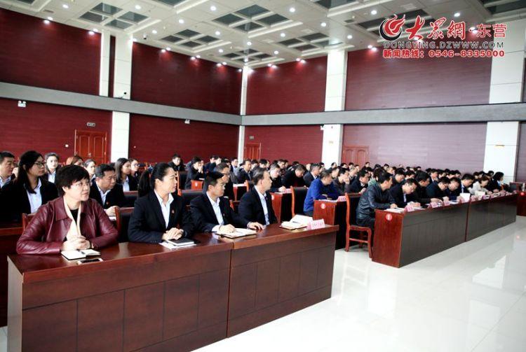 刚刚!东营市首家区级行政审批服务局挂牌成立