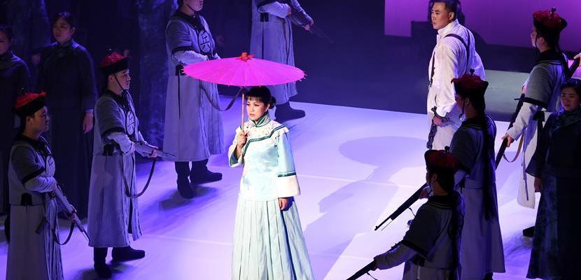 原创歌剧《与妻书》首演 融入福建当地曲艺元素