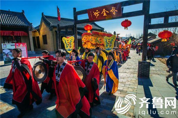 淘金小镇春节庙会