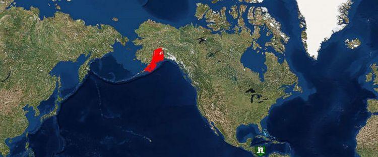 美国阿拉斯加发生7.2级地震,部分地区已发布海啸预警