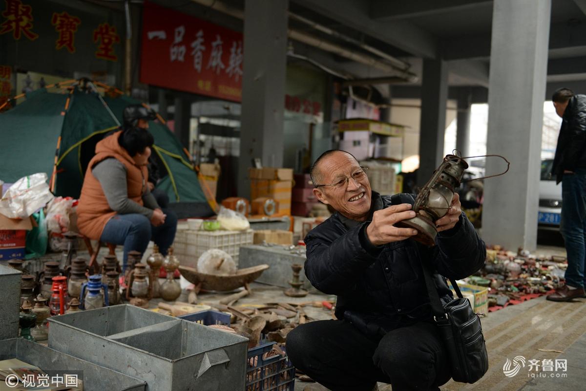 山东聊城:老物件展销中心开门迎客