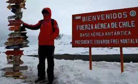 """淄博小伙""""出征""""南极 在长城站从事气象预报预测"""
