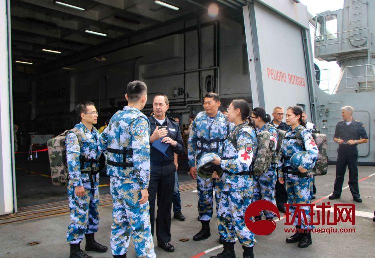 我驻吉布提保障基地与西班牙海军 开展联合医疗演练
