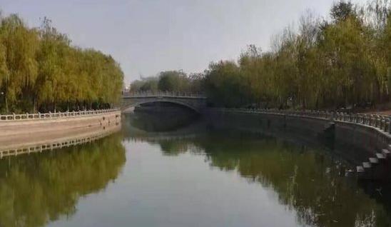 聊城城区1300米运河河道全面清理完成