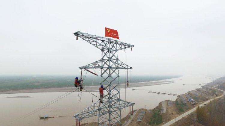 惠及1.3万人!山东黄河滩区5.8万亩农田灌溉全面通电