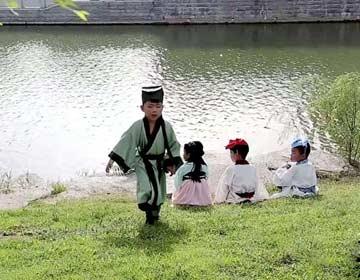 无棣微视频《邯郸学步》获省级比赛金奖