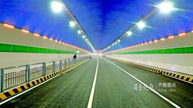 破天荒,济南这个隧道允许骑自行车通过!月底将通车