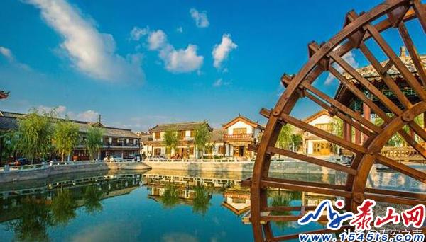 泰安市春秋古镇上榜省10家国家4A级旅游景区名单