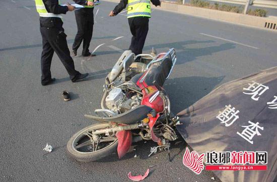 临沂一男子醉酒驾驶摩托车酿成惨祸 生命难追回