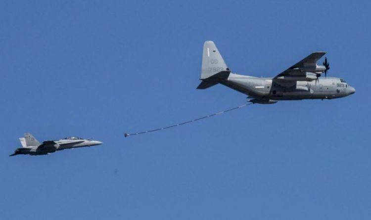 美战机与加油机日本近海上空相撞双双坠海:1人获救 6人仍失踪