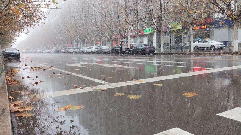 雨夹雪平均降雨量4.7毫米,今日最低气温1℃