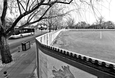 公交场站腾退 北京东宫门外将建步行街
