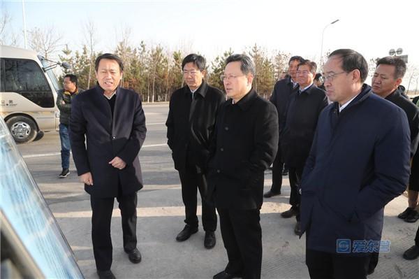 赵志远调研重点城建项目建设