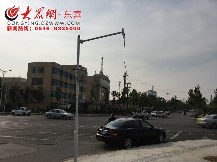 利津这个路口信号灯长期缺席 何时能装上?