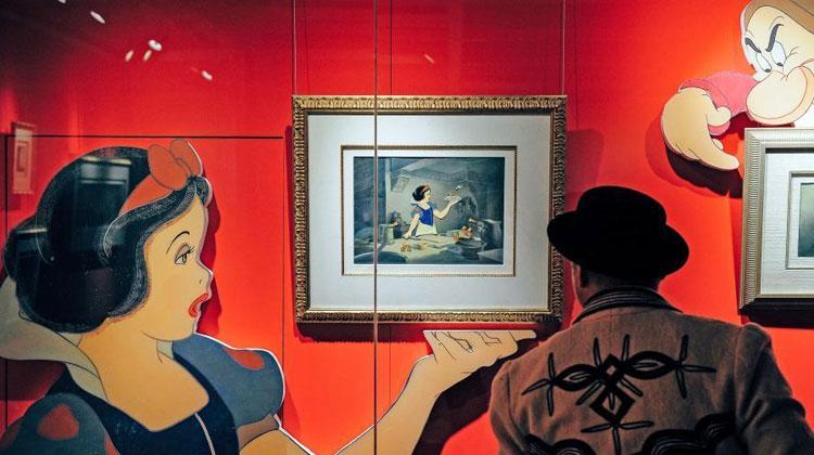 世界经典动漫原画在天津展出