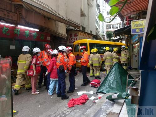 香港北角严重车祸已致2人死亡14人受伤 多人昏迷-世界最大跨度铁路拱...图片 40700 500x375