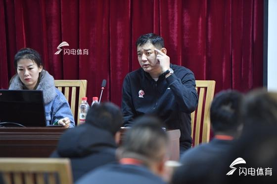 山东首届青少年篮球初级教练员培训班开班 巩