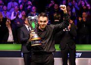 英锦赛奥沙利文10-6艾伦七度封王 夺排名赛第34冠