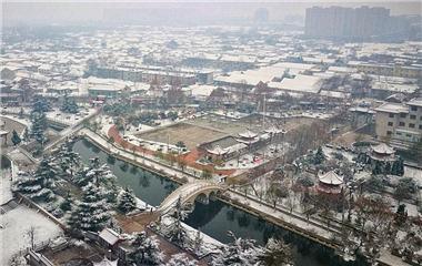 枣庄菏泽等多地降雪!银装素裹的城市刷爆朋友圈