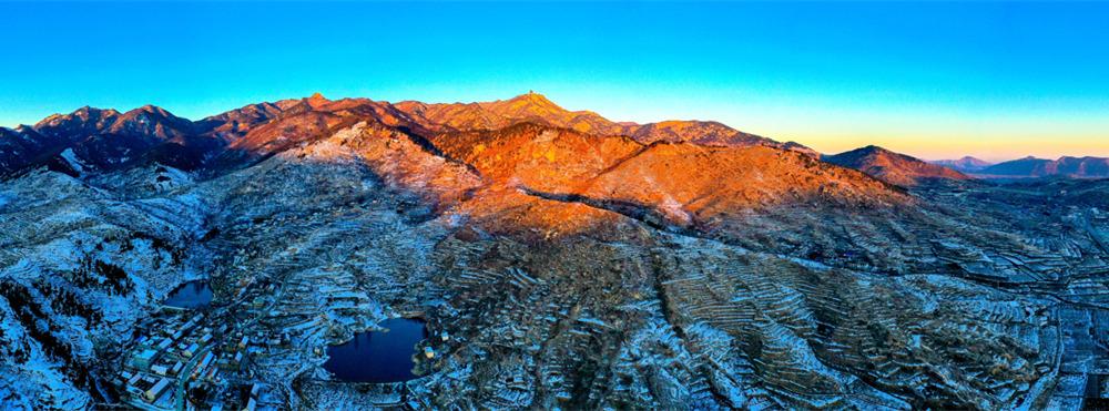 如诗如画!雪后临沂天蒙山盛景迷人宛如仙境