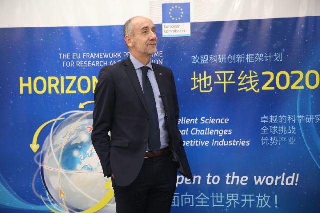 欧盟官员:欢迎中国参与欧洲千亿欧元创新计划