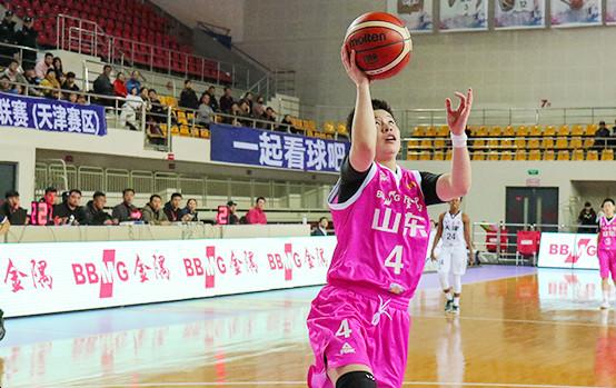 国内球员五人得分上双 山东西王女篮险胜陕西