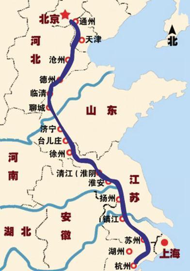 京杭运河济宁以北要复航,重现1800公里河道不是梦