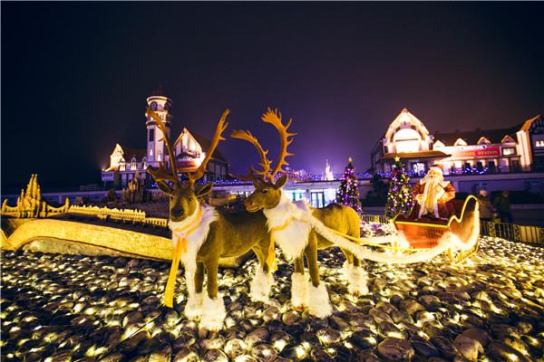 惊喜1-欧乐堡圣诞夜景