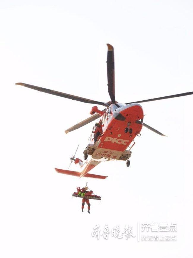 建队十年挽救近千人生命 他们为遇险者送上一片蓝天