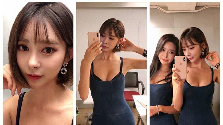 韩国健身达人晒自拍 身材凹凸有致引人侧目