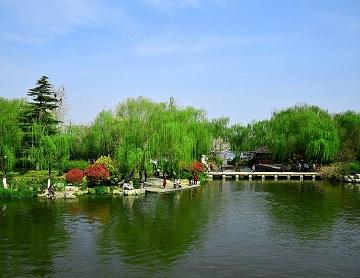 """湮没数十年,济南""""小明湖""""未来或重现"""