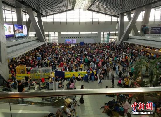 菲移民局持续加强机场安全措施 维持一级安全戒备