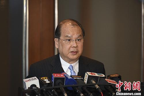张建宗:改革开放40年,香港是贡献者也是受惠者