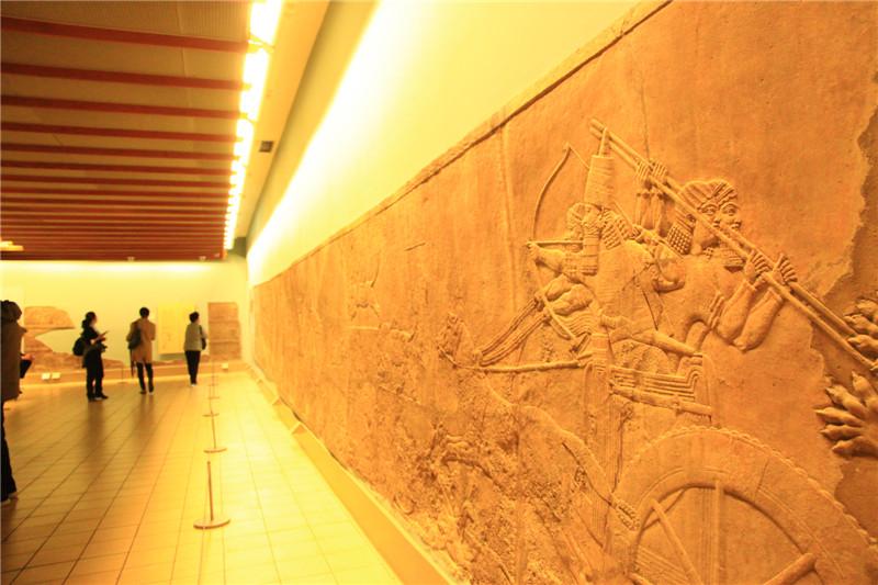 105、古埃及浮雕