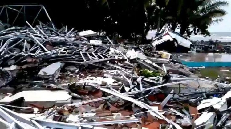 台媒:8名台胞因印尼海啸受困山中 2人伤重待送医