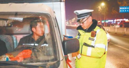 冬季道路交通安全百日攻坚深入推进 淄博交警一晚查处酒驾醉驾101起