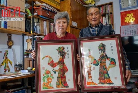 【青岛面孔⑨】皮影夫妇的艺术人生