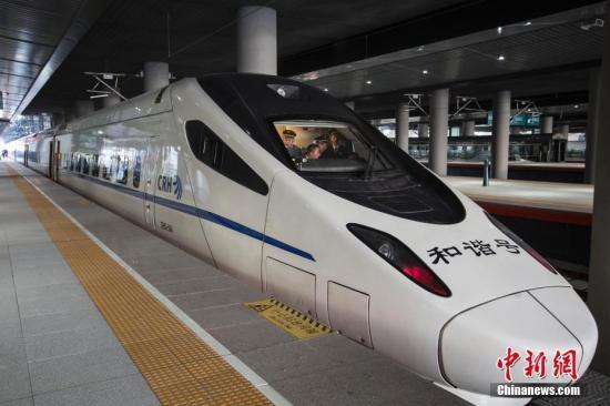新春搭高铁往来内地与香港旅客数料创新高