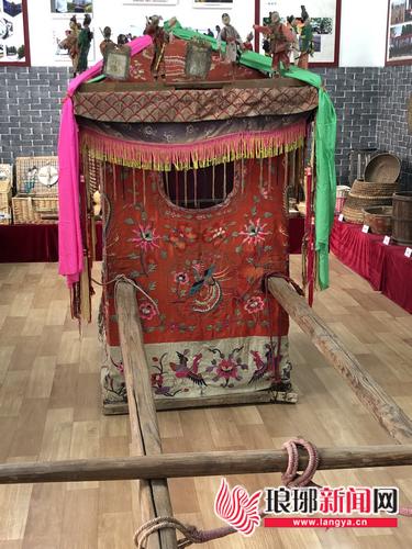 临沂乡村记忆馆留存时代记忆 花轿见证婚嫁变迁