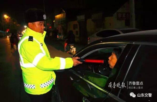 临近年底注意安全,山东平均每天查处700多名酒司机