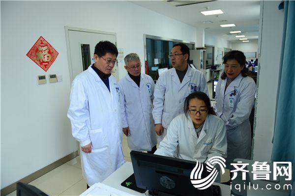 滨医烟台附院与莱山区医联体单位远程心电、远程影像平台正式上线运行