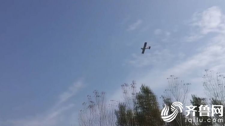 """高手在民间!滕州80后初中学历小伙自造飞机成功""""上天"""""""